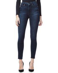 GOOD AMERICAN - Good Waist Crop Skinny Ultra High-rise Jeans - Lyst