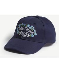 The Kooples - Wild Roses Cotton Cap - Lyst