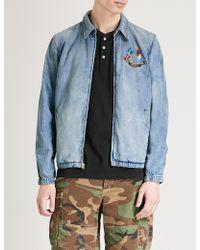 Polo Ralph Lauren - Cross Flags Denim Jacket - Lyst