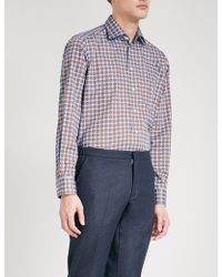 Eton of Sweden - Polka-dot Contemporary-fit Cotton Shirt - Lyst