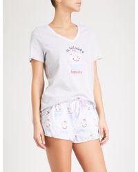 Peter Alexander - Cupcake Cotton Pyjama Set - Lyst