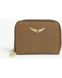 Zadig & Voltaire - Leather Bubble Wallet - Lyst
