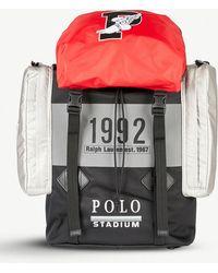 6825a8884abe Polo Ralph Lauren - Winter Stadium 1992 High Tech Woven Shell Backpack -  Lyst