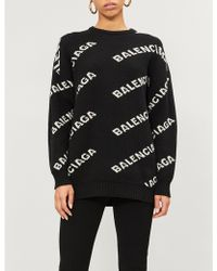 Lyst - Women s Balenciaga Sweaters and pullovers On Sale 22cd4e350