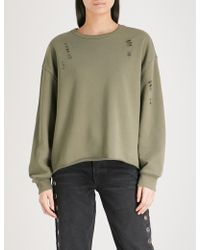 Izzue - Tron Cotton-blend Sweatshirt - Lyst