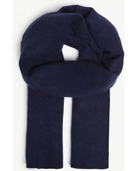 CASH CA - Long Merino Wool And Yak Scarf - Lyst