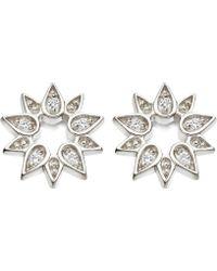 Astley Clarke - Mini Sun Biography Sapphire Stud Earrings - Lyst