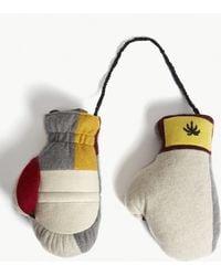 The Elder Statesman | Lamyland Stuffed Cashmere Boxing Gloves | Lyst