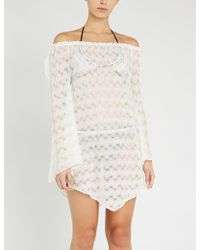 Missoni - Chevron-pattern Woven Cover-up - Lyst