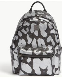 MCM - Stark Backpack In Leopard Print - Lyst