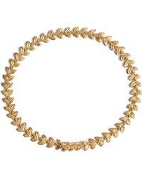 Annoushka - Vine 18ct Gold And Diamond Bracelet - Lyst