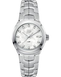 Tag Heuer - Wbc1312.ba0600 Link Stainless Steel Watch - Lyst