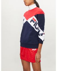 Fila - Lidia Cotton-blend Sweatshirt - Lyst