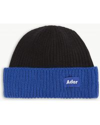 ADER error - Logo Label Fisherman's Beanie - Lyst
