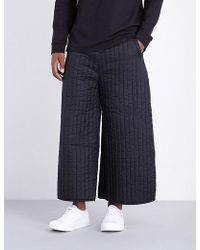 Björn Borg - Wide-leg Quilted Shell Trousers - Lyst