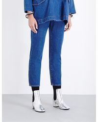 Kéji - Cigarette Skinny High-rise Jeans - Lyst
