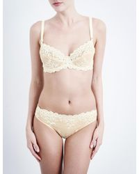 Wacoal - Embrace Lace Stretch-lace Underwired Bra - Lyst