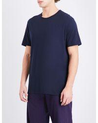 Derek Rose - Riley Cotton-jersey Pyjama Top - Lyst