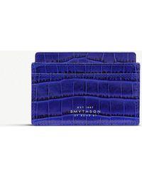 Smythson - Mara Leather Card Holder - Lyst