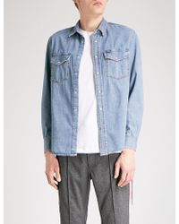 DIESEL - D-rooke Regular-fit Denim Shirt - Lyst