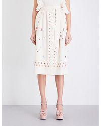 Temperley London | Juniper Crepe Skirt | Lyst