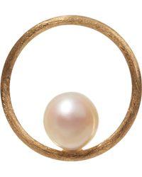 Annoushka - Hoopla Pearl 18ct Yellow-gold Pendant - Lyst