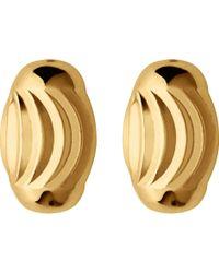 Links of London | Essentials 18ct Yellow-gold Vermeil Beaded Stud Earrings | Lyst