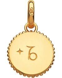 Links of London - Capricorn 18ct Yellow-gold Vermeil Zodiac Charm - Lyst
