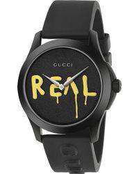 Gucci - Ghost G Timeless Ya1264017 Men's Watch - Lyst