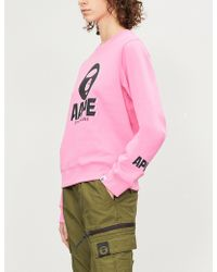 Aape - Logo-print Cotton-blend Sweatshirt - Lyst
