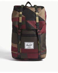 335103e62bb Lyst - Herschel Supply Co. Retreat Backpack in Black