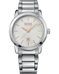 BOSS - 1513401 Classic Stainless Steel Watch - Lyst