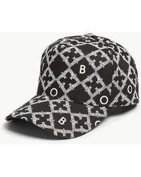 BOY London - Echo Cotton Snapback Cap - Lyst
