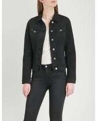 Lee Jeans - Body Optix Slim Rider Stretch-denim Jacket - Lyst