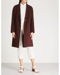 Vince - Single-breasted Wool-blend Coat - Lyst