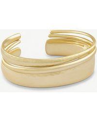 Kendra Scott - Tiana Pinch 14ct Gold-plated Bracelet - Lyst