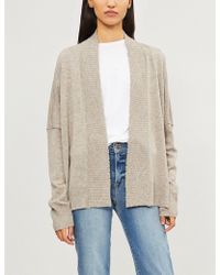 Zadig & Voltaire - Tanya Open-front Cashmere Cardigan - Lyst