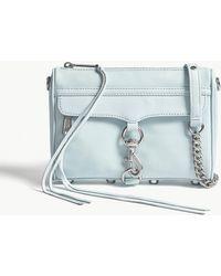 Rebecca Minkoff - Mini Mac Grained Leather Cross-body Bag - Lyst