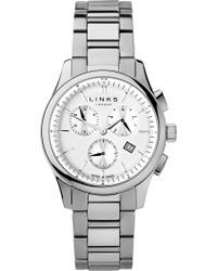 Links of London - 6020.1156 Regent Chronograph Stainless Steel Watch - Lyst