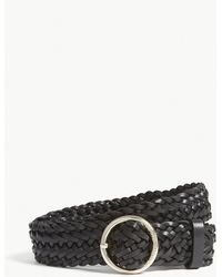 Claudie Pierlot - Braided Leather Belt - Lyst