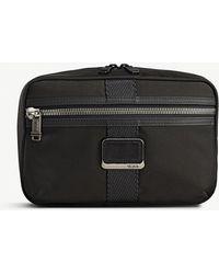 Tumi - Reno Zipped Woven Wash Bag - Lyst