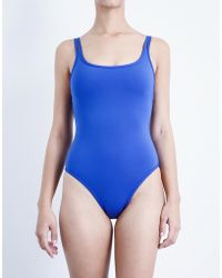 Jets by Jessika Allen | Intuition Double-strap Swimsuit | Lyst