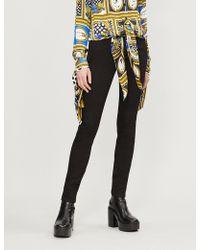 Versus - Stretch Skinny High-rise Jeans - Lyst