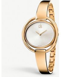 CALVIN KLEIN 205W39NYC - K4f2n616 Impetuous Stainless Steel Watch - Lyst
