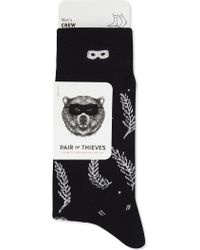BOY London - Feather Combed Cotton Socks - Lyst