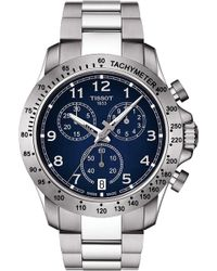 Tissot - T039.417.11.047.02 V8 Stainless Steel Chronograph Watch - Lyst