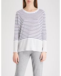 The White Company - Striped Linen Jumper - Lyst