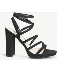 Office - Harris Suedette Strappy Sandals - Lyst
