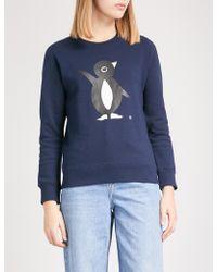 Chocoolate - Printed Cotton-jersey Sweatshirt - Lyst