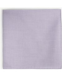 BOSS - Jacquard Cotton-blend Pocket Square - Lyst